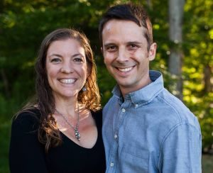 Ryan Krumroy and his wife, Tracey Krumroy